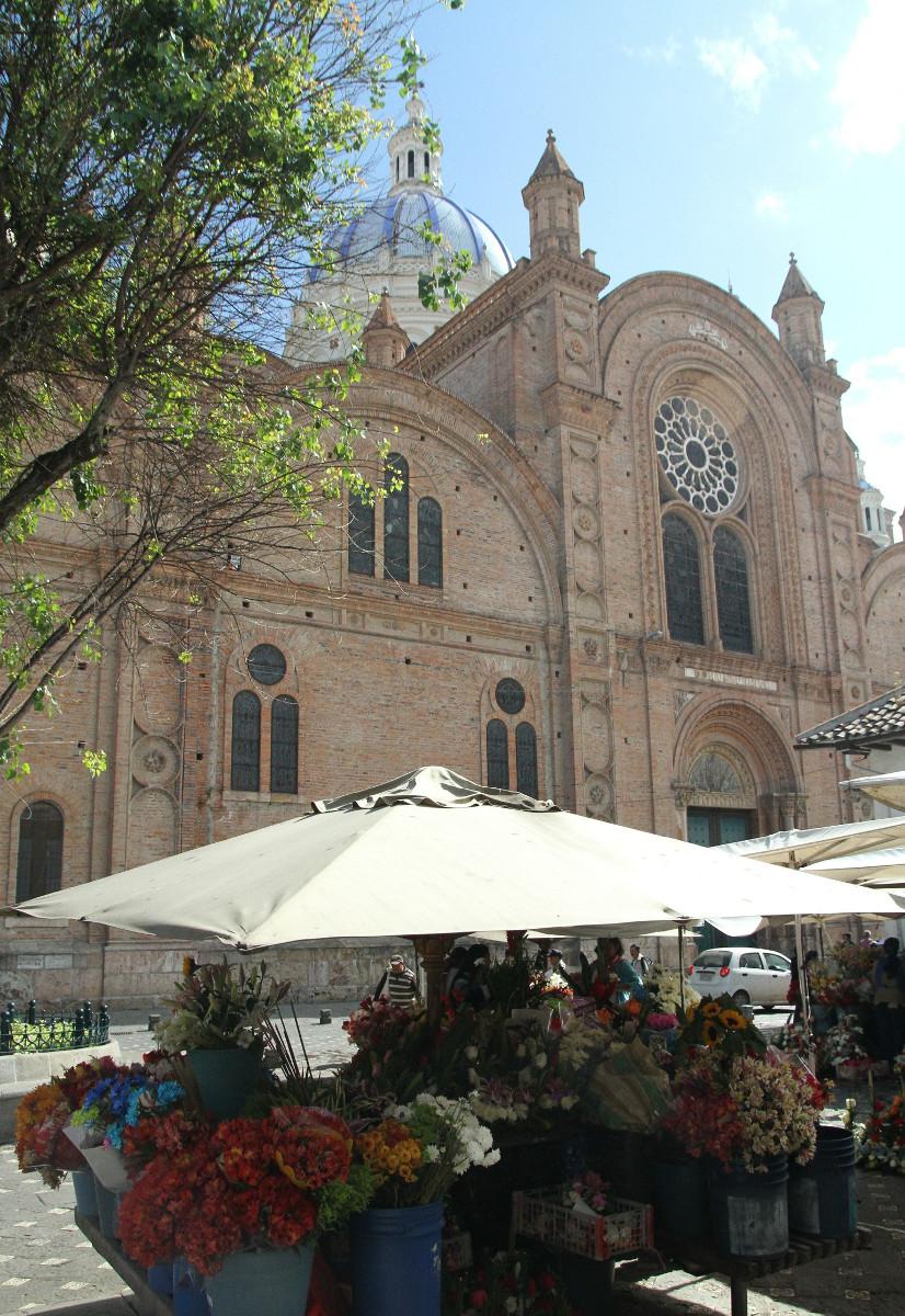 Cuenca city Ecuador