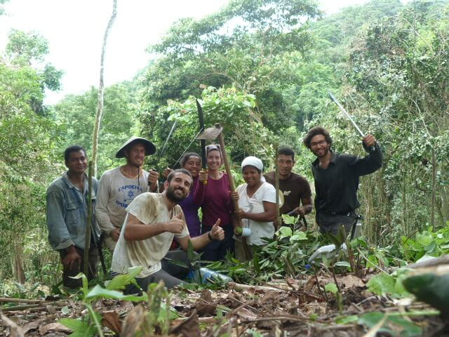 Caimito permaculture. Aprenticeship and Volunteer Program
