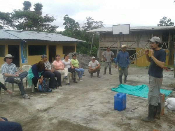 Meeting in Caimito