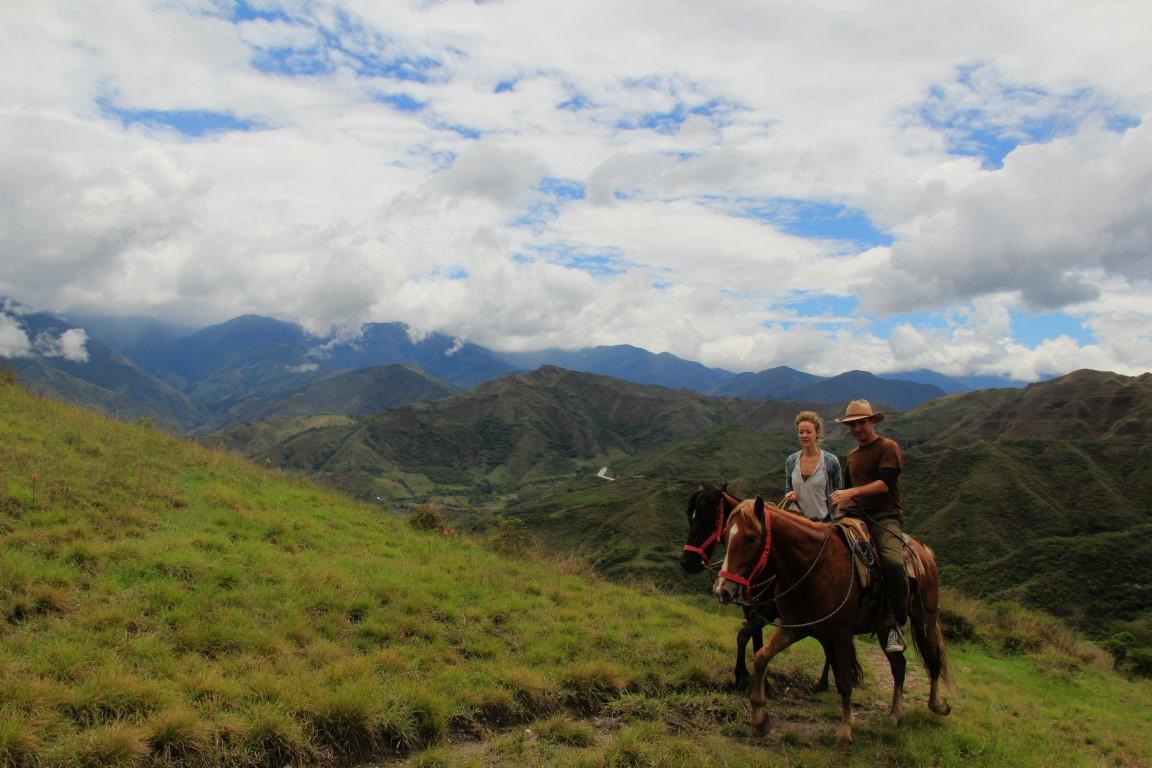 vilcabamba panorama with us Medium