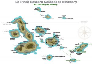 3 nights eastern-galapagos-friday-to-monday