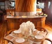 galapagos cruise buffet