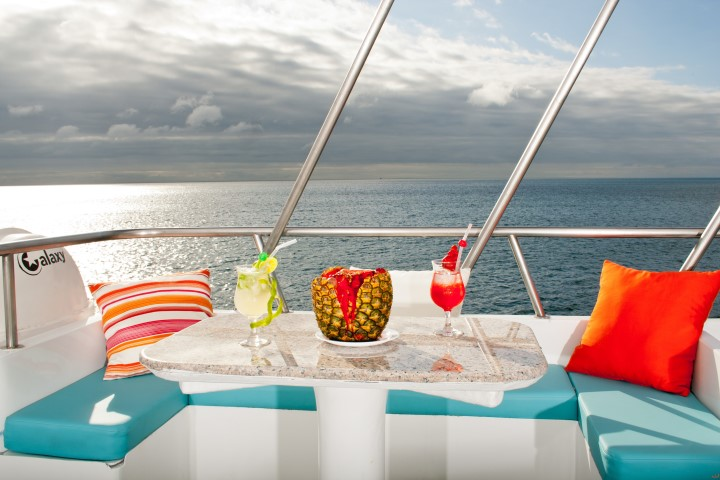 cocktail in galapagos cruise