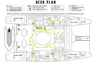 Nemo II Deck Plan