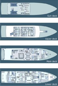 Galapagos Galaxy Deck Plan