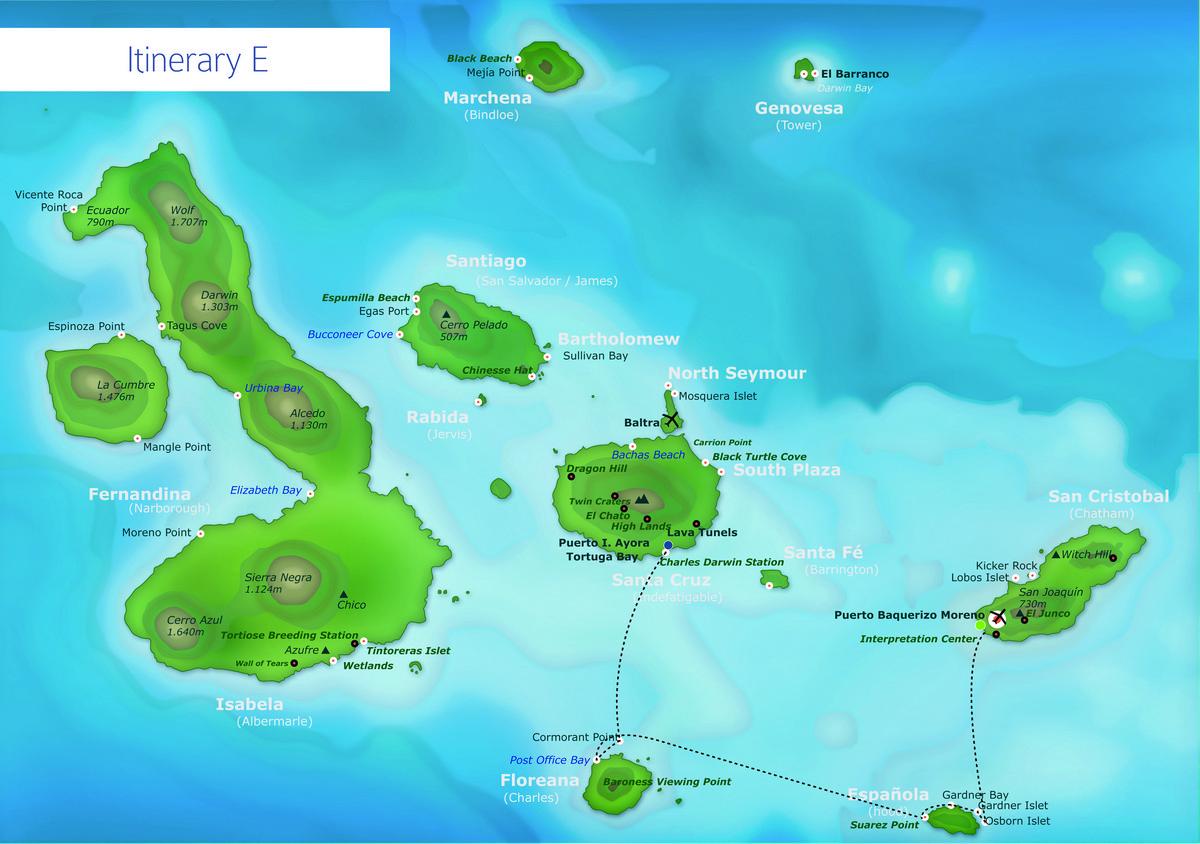 Itinerary E