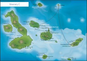 Galapagos itinerary C