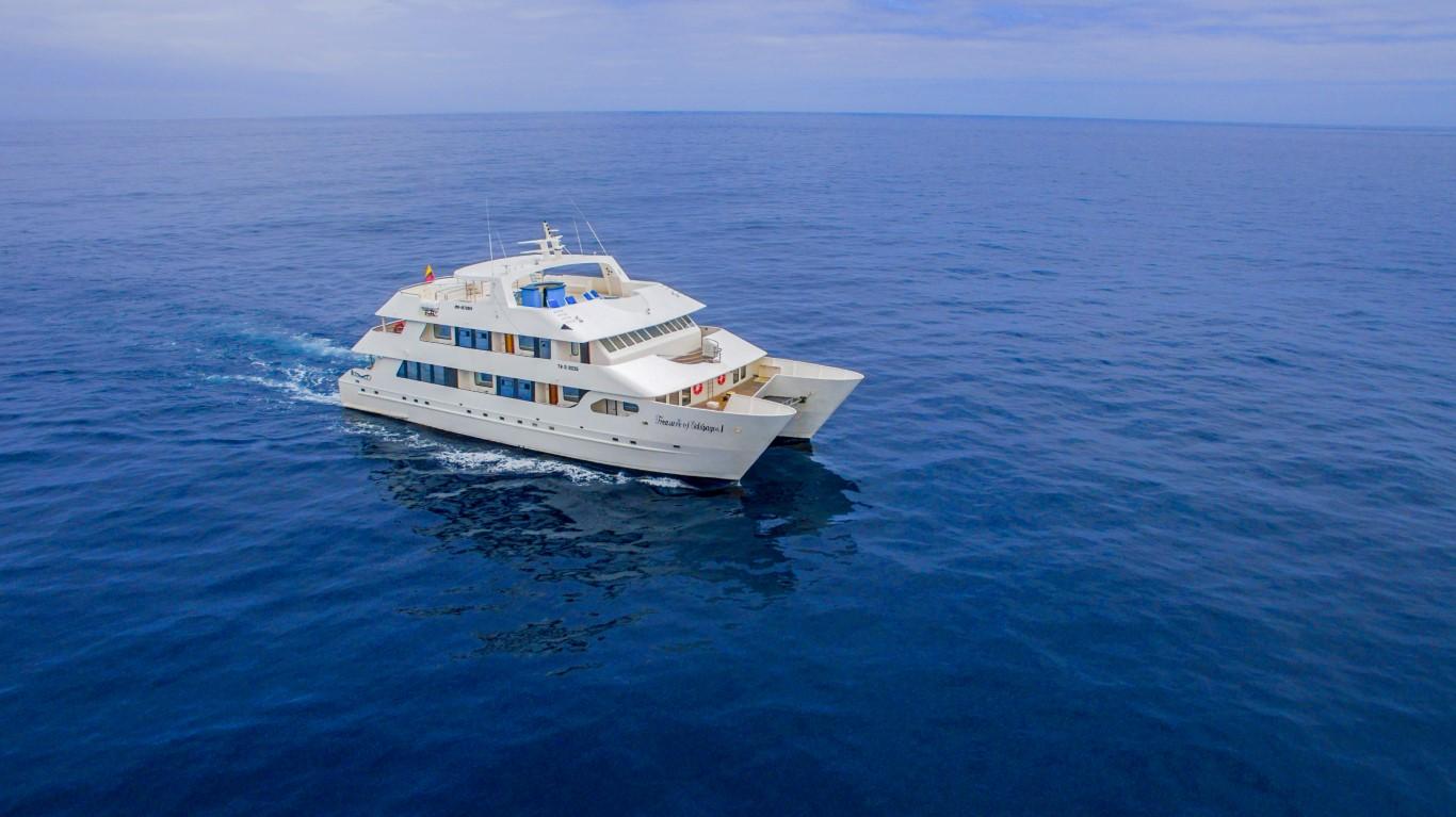 Motor Catamaran Treasure of Galapagos