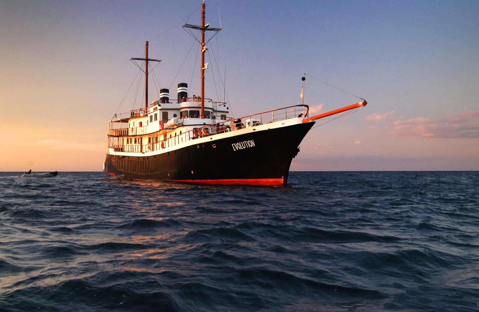 Galapagos Cruise Evolution