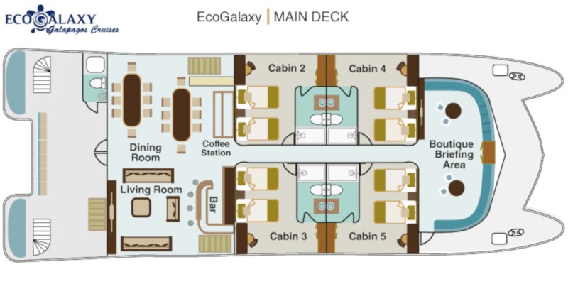 EcoGalaxy Main Deck -