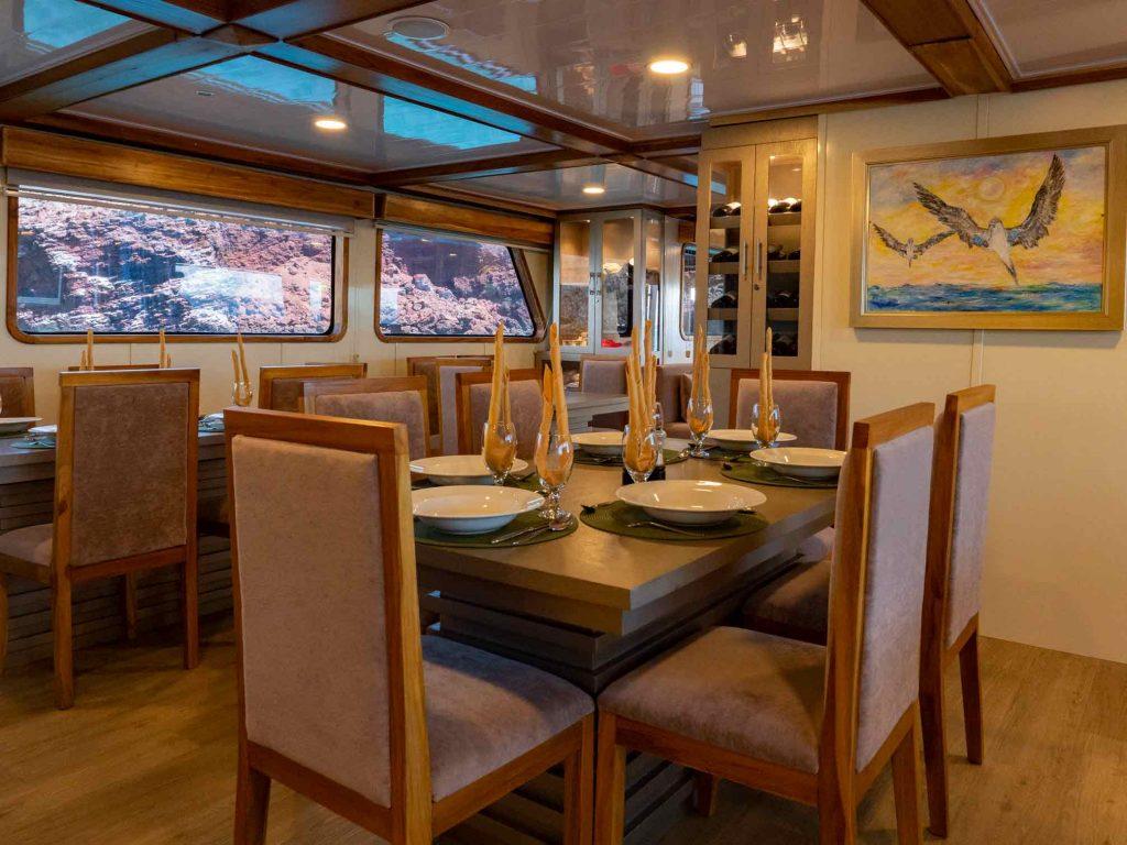 Galaxy interior2 - Birdwatching Galapagos Cruises