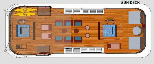 Sea Star Journey Sun Deck -