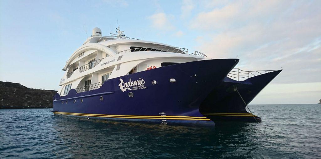 Endemic Galapagos Catamaran