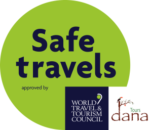 WTTC SafeTravels Stamp Dana Tours