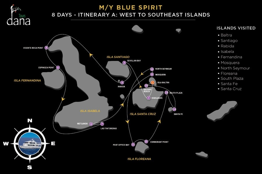 Blue Spirit 8 Days - A West to Southeast Islands