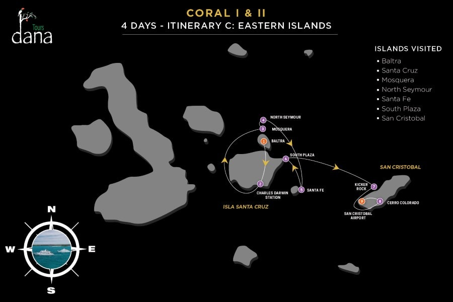 Coral I & II 4 Days - C Eastern Islands