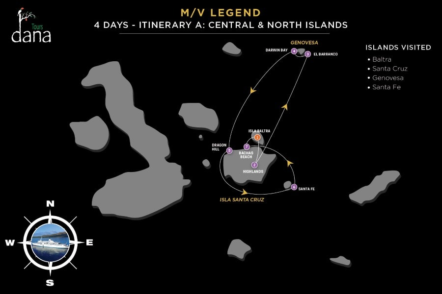Legend 4 Days - A Central & North Islands