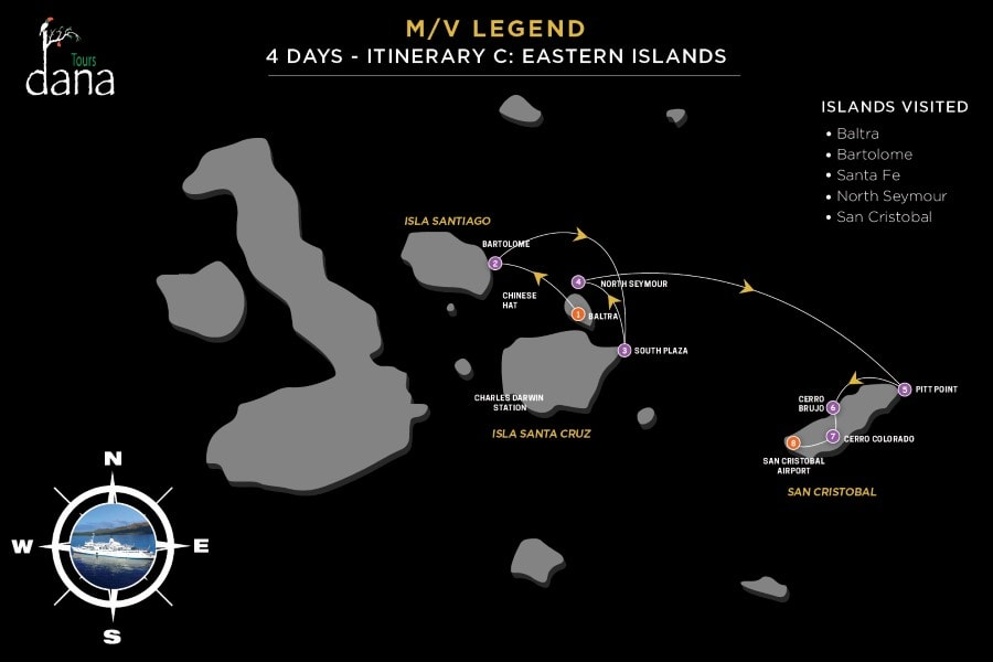 Legend 4 Days - C Eastern Islands