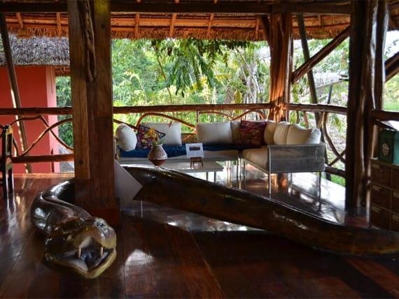 Napo Wildlife Center relax
