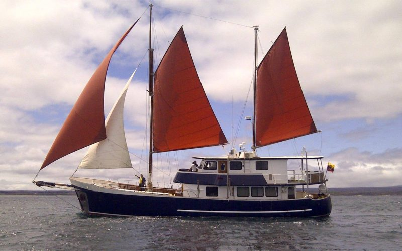Samba Galapagos Sailboat